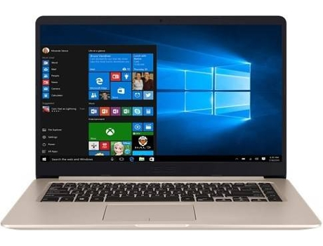 Portátil 15.6'' ASUS S510UN-78A94DB1 — Intel Core i7-8550U | 8 GB | 256GB SSD | NVIDIA GeForce MX150 GDDR5 2GB