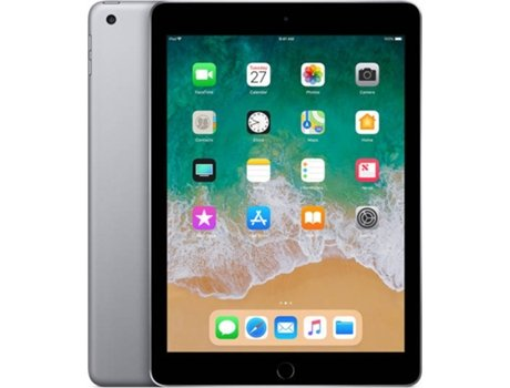 iPad 9.7'' APPLE Wi-Fi+4G 128 GB Cinzento Sideral — 9.7'' | 128 GB | iOS 10