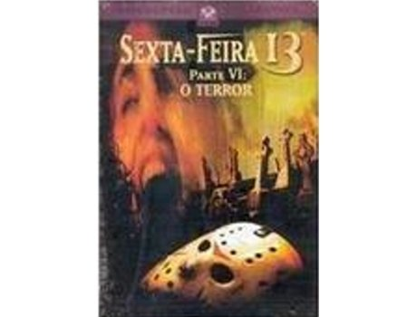 DVD Sexta Feira 13 VI- O Terror — De: Tom McLoughlin | Com: Thom Mathews, Jennifer Cooke, David Kagen