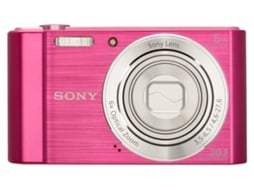 Máquina digital SONY W810 — 20.1 MP | Zoom ótico: 6x