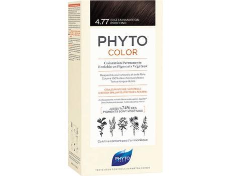 Coloração PHYTO Phytocolor 4.77 Castanho Marron Profundo Coloração Permanente Sem Amoníaco