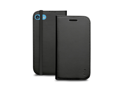 Capa SBS Booklet iPhone 5c Preto — Compatibilidade: iPhone 5c