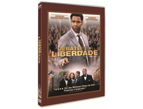 DVD Debate pela Liberdade — De: Denzel Washington | Com: Denzel Washington,Forest Whitaker,Kimberly Elise,Jurnee Smollett,Denzel Whitaker