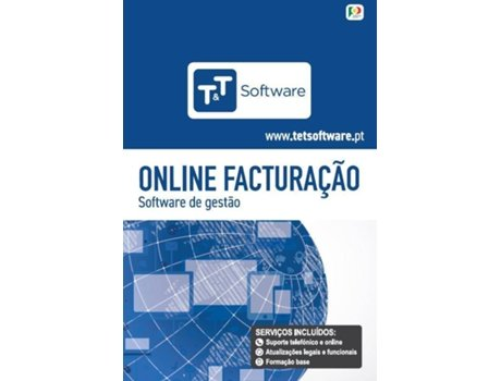 Software T&T Faturação Online (1 anos - PC, Mac, Tablet) — Para PC/Mac/Tablet | Anual