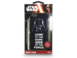 Capa DISNEY STARS Star Wars iPhone 6, 6s Preto — Compatibilidade: iPhone 6, 6s