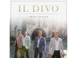 CD Il Divo Amor & Pasion — Pop-Rock