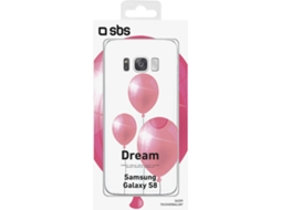 Capa SBS Balloon Dream Collection Samsung Galaxy S8 Transparente — Compatibilidade: Samsung Galaxy S8