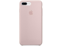 Capa APPLE iPhone 7 Plus Silicone Rosa Sand — Compatibilidade: iPhone 7 Plus