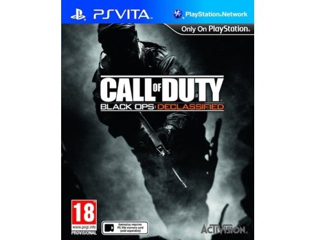 Jogo PS VITA Call of Duty: Black Ops Declassified — FPS | Idade Mínima Recomendada: 18