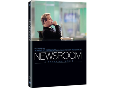 DVD Newsroom - Temporada 1 — Do realizador Aaron Sorkin