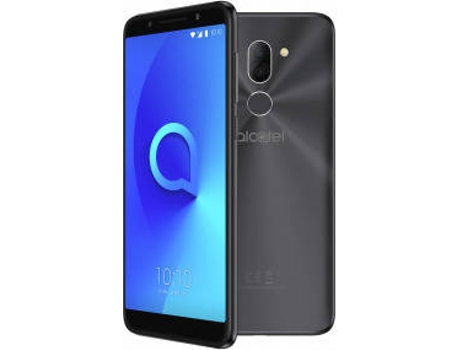 Smartphone ALCATEL 3X 32 GB Preto — Android 7.1 | 5.7'' | Quad-Core | 3 GB RAM | Dual SIM