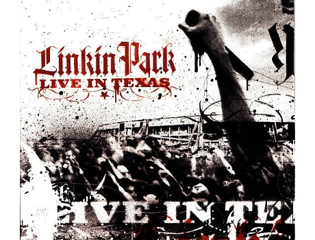 CD Linkin Park - Live In Texas