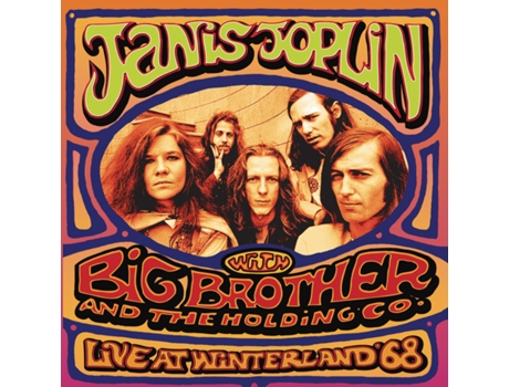 CD Janis Joplin - Live at Winterland '68 — Pop-Rock