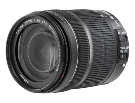 Objetiva CANON EF-S 18-135mm IS STM — Abertura: f/22-38