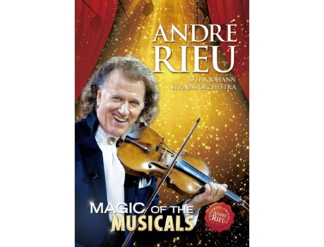 DVD André Rieu - Magic Of The Musicals — Clássica