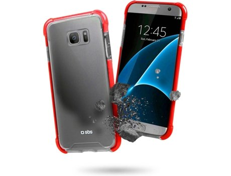 Capa Antichoque SBS Galaxy S7 Edge Transparente — Compatibilidade: Galaxy S7 Edge