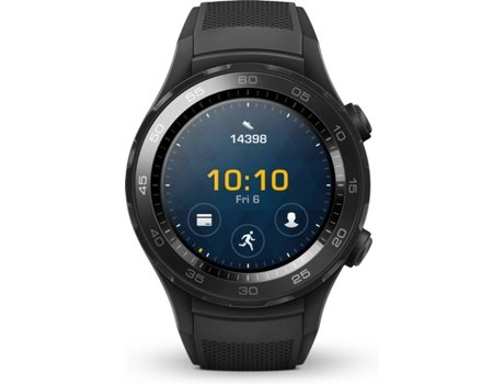 Smartwatch HUAWEI Watch W2 Carbon Black — Android