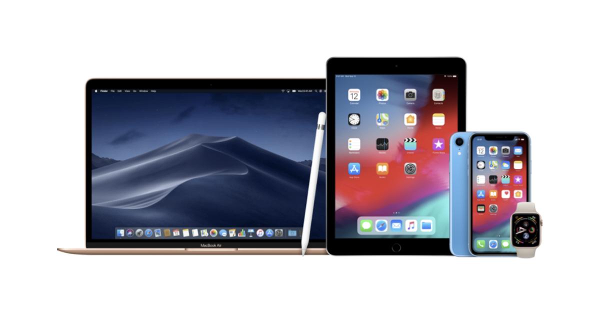 Lançamentos Apple 2019