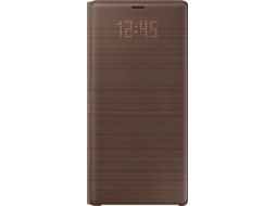 Capa SAMSUNG LED View Galaxy Note 9 Castanho — Compatibilidade: Samsung Galaxy Note 9