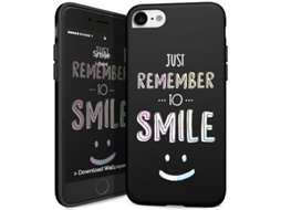 CAPA iPhone 8 / iPhone 7 I-PAINT Soft Case Smile — Capa / iPhone 8 / iPhone 7