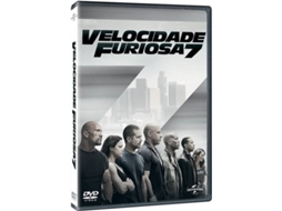 DVD Velocidade Furiosa 7 — De: James Wan | Com: Vin Diesel, Paul Walker, Dwayne Johnson