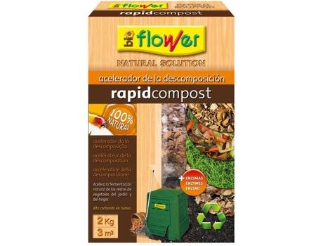 FLOWER - Acelerador de Descompostagem FLOWER Rapidcompost (2kg)