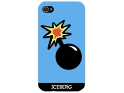 Capa ICEBERG Iceberg Hard Case iPhone 7 Plus, 8 Plus Azul — Compatibilidade: iPhone 7 Plus, 8 Plus