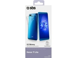 Capa SBS Skinny Honor 9 Lite Transparente — Compatibilidade: Honor 9 Lite