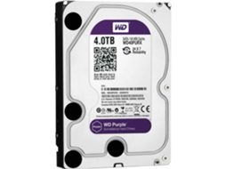 Disco Interno 3.5'' WESTERN DIGITAL 4TB Caviar Purple WD40PURX — 3.5'' | 4 TB | SATA3 6 Gb/s