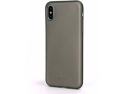 Capa GOODIS Smooth iPhone X Cinzento — Compatibilidade: iPhone X
