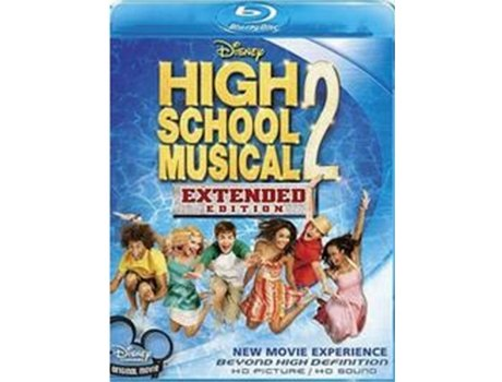 Blu-Ray High School Musical 2 — De: Kenny Ortega | Com: Zac Efron, Vanessa Hudgens, Ashley Tisdale