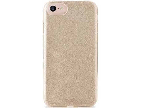 Capa iPhone 6, 6s, 7, 8 PURO Shine Dourado — Compatibilidade: iPhone 6, 6s, 7 ,8