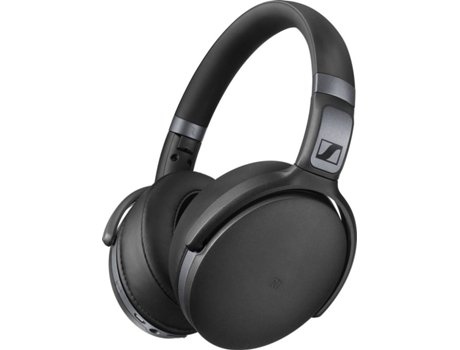 3811ff19115 Auscultadores Bluetooth SENNHEISER HD 4.40 (Over Ear - Microfone - Preto)
