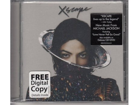 CD Michael Jackson - Xscape — Pop