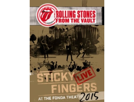 DVD The Rolling Stones - Sticky Fingers Live At The Fonda Theatre — Pop-Rock