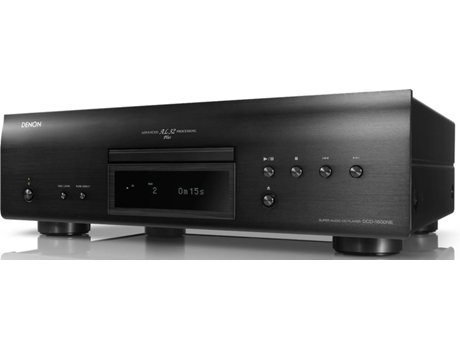 Leitor CD DENON DCD-1600NE Preto — Formatos: CD, SACD, MP3, WMA