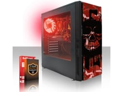 Desktop Gaming FIERCE Exile (AMD Athlon X4 950 - NVIDIA GeForce GTX 1650 - RAM: 16 GB - 1 TB HDD) — Sem Sistema Operativo | Wi-Fi