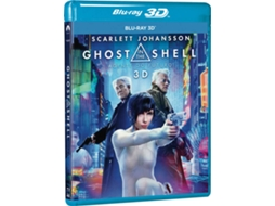 Blu-Ray 3D Ghost In The Shell: Agente Do Futuro — De: Rupert Sanders  | Com: Scarlett JohPilou Asbæk,  Takeshi Kitano