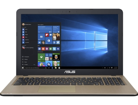 Portátil 15.6'' ASUS F540Na-C3Ahdpb1 — Intel Celeron N3350 | 4 GB | 1TB | Intel HD Graphics 500