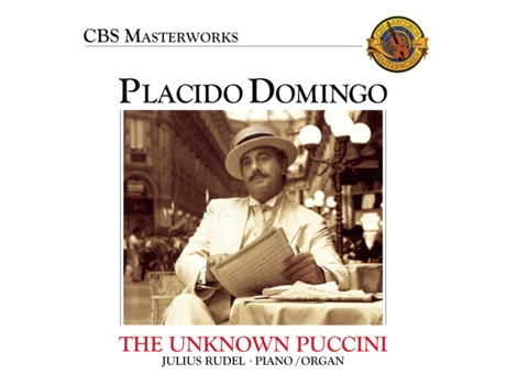 CD Vários placido domingo: the unknown puccini son — Pop-Rock