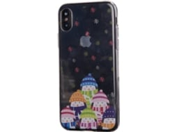 Capa KUNFT Pinguins iPhone X — Compatibilidade: iPhone X
