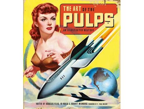 Marca do fabricante - Livro The Art Of The Pulps: An Illustrated History de Douglas Ellis