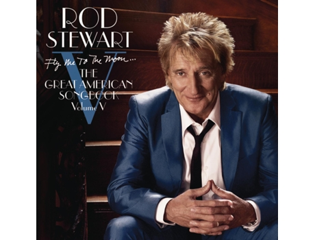 CD Rod Stewart Fly me to The Moon...The Great American — Pop-Rock