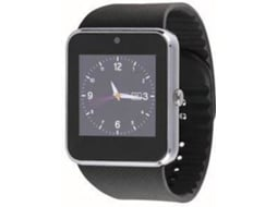 Smartwatch CLIPSONIC TEC597 Preto — Bluetooth | 100 mAh | Android e iOS