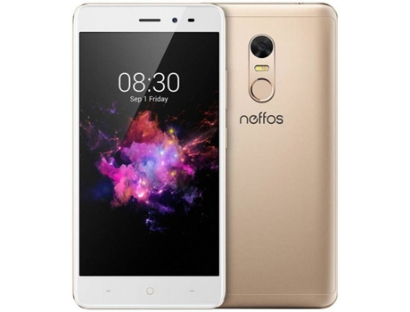 Smartphone TP-LINK Neffos X1 Lite 16GB Sunrise Gold — Android 7.0 | 5'' | Octa-Core 4x1.5 + 4x1GHz | 2GB RAM