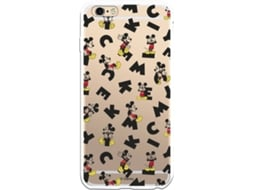 Capa iPhone 6 Plus, 6s Plus LA CASA DE LAS CARCASAS DISNEY Mickey Letras Multicor
