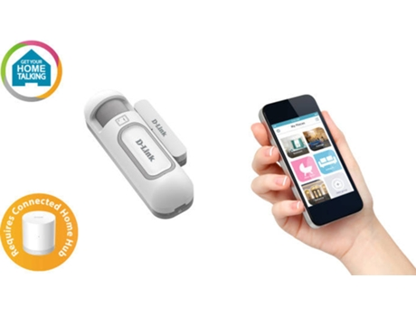 Sensor Porta e Janela D-LINK Z-WAVE — Wireless