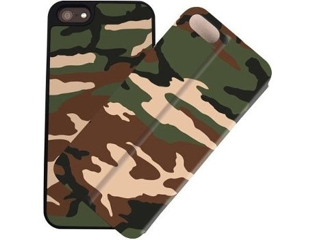 Capa I-PAINT Double iPhone 5/5S/Se Military — Capa / iPhone 5/5S/Se