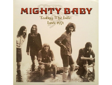 Vinil Mighty Baby - Tasting The Life: Live 1971