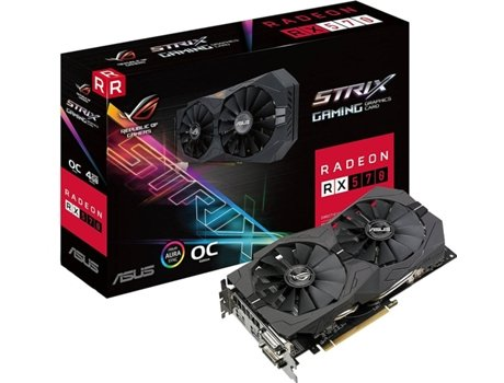 Placa Gráfica ASUS Strix Gaming RX 570 4GB — AMD | RX 570